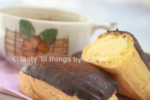 Eclairs #homemade #baking