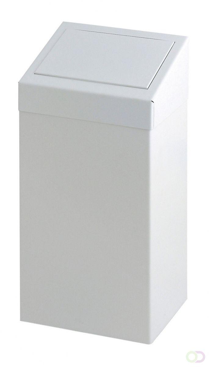 Sanitaire Pushbak 50 liter, Wit