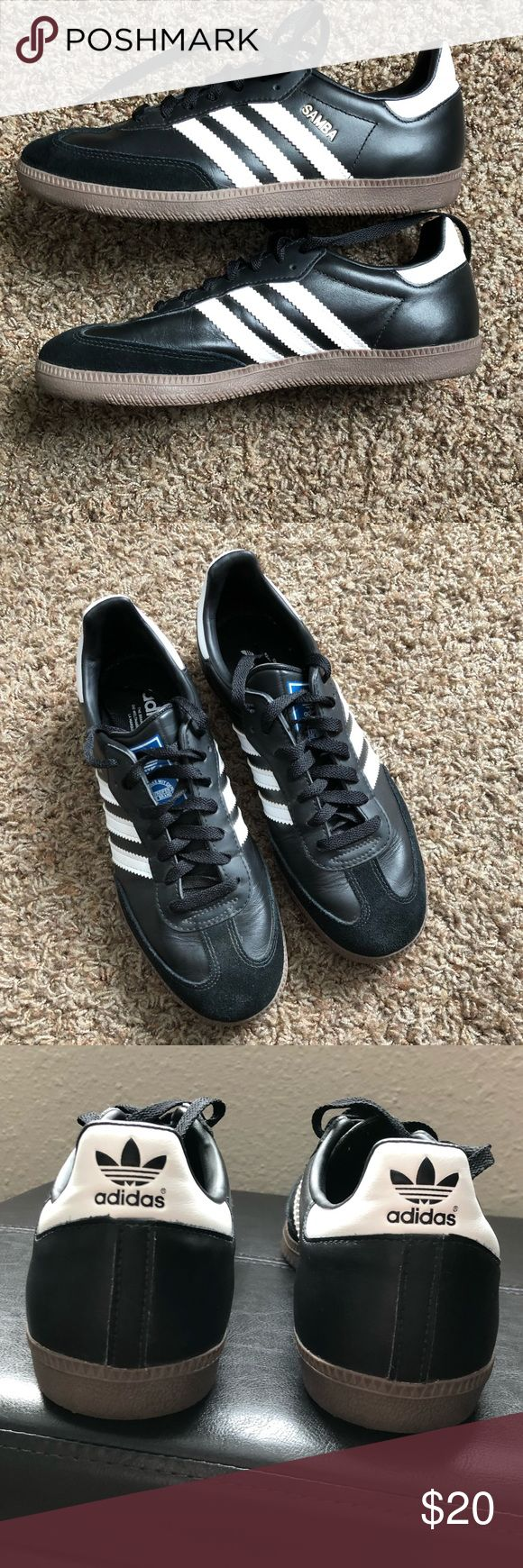 Adidas Samba Adidas Samba Classic Size 8 1/2 Perfect condition- only worn one   Will accept reasonable offers! adidas Shoes Athletic Shoes