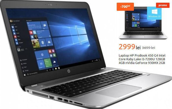 Promotie Laptop HP ProBook 450