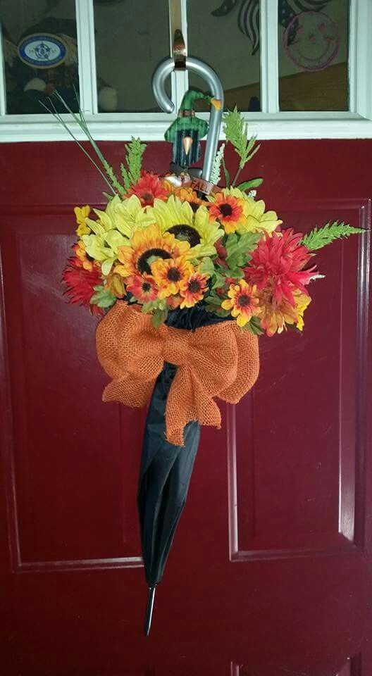 25 Best Ideas About Umbrella Wreath On Pinterest How To