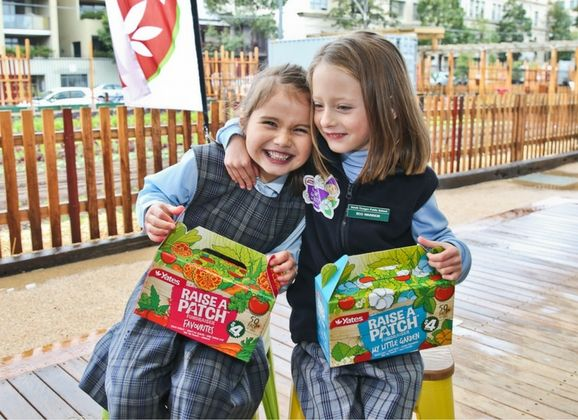YATES TAKES SWEETS OFF THE MENU WITH A FRESH FUNDRAISING CAMPAIGN  Australasia's most trusted garden care business YATES®, has introduced a fresh and healthy new fundraising initiative called YATES® RAISE A PATCH™.