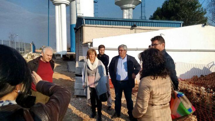 El agua potable en las pedanías de Villacarrillo, para dentro de un mes