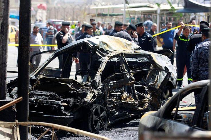 Muerte y destrucción en Bagdad: Mientras celebran el mes de Ramadán ocurrió el ataque.