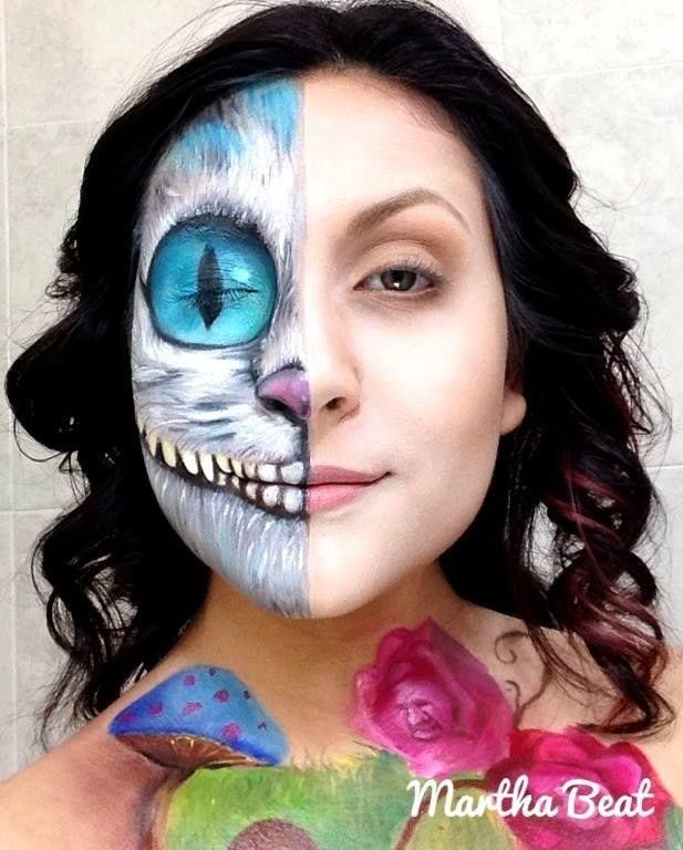Martha Beat: maquillaje de fantasía | .TierraConsentida. #MakeUp ...