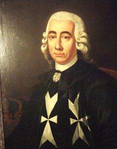 Emmanuel de Rohan-Polduc, Grand Master of the Order of St John, 1775-1797. #OrderofMalta #SMOM