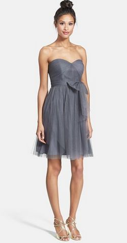 Gray bridesmaid dress | Jenny Yoo