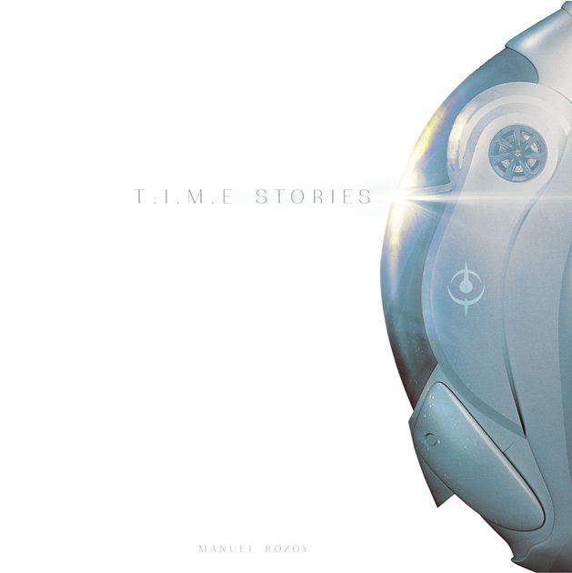 """Description from the publisher: The T.I.M.E Agency protects humanity by preventing temporal faults and paradoxes from threatening the fabric of our universe. As temporal agents, you and your team will be sent into the bodies of beings from different worlds or realities to successfully complete the missions given to you. Failure is impossible, as you will be able to go back in time as many times as required. T.I.M.E Stories is a narrative game, a game of """"decksploration"""". E..."""