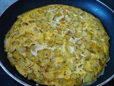 Omelett mit Kartoffel – Patatesli Omlet - Türkische Gerichte