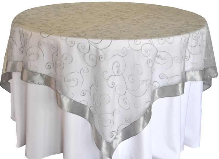 17 Best Images About Table Cloths Overlays On Pinterest