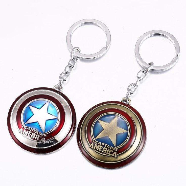 Super Hero The Avengers Captain America Shield Metal Keychain Online with $1.51/Piece on Jacobwang007's Store | DHgate.com