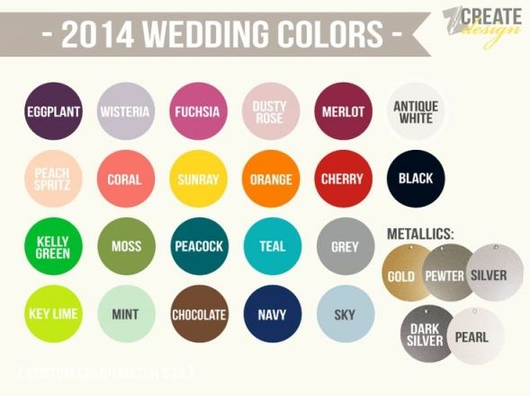 12 best 2014 spring wedding trends images on Pinterest ...
