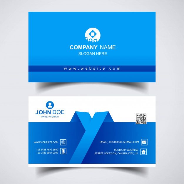 Download Modern Creative Business Card Template Design For Free