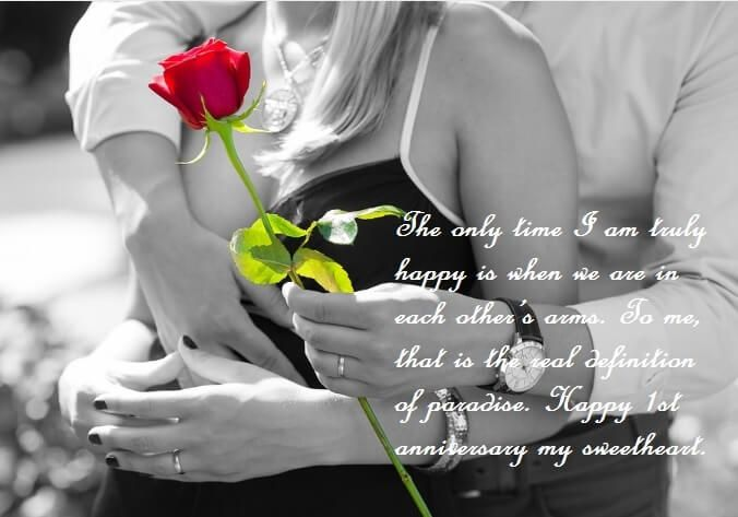 First Wedding Anniversary Wishes For Wife Quotes Anniversary Wishes For Wife Wedding Anniversary Wishes Marriage Anniversary Wishes Quotes