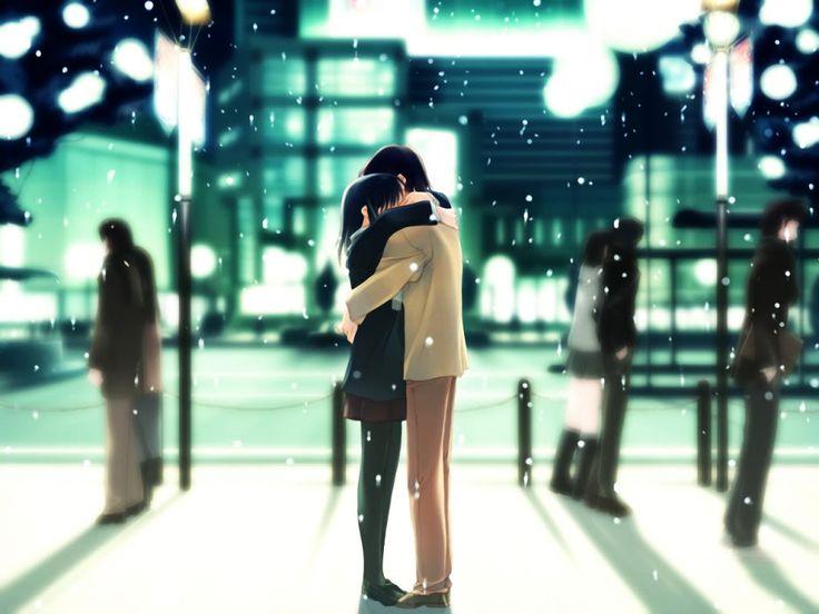 Parejas Anime :: Pareja anime abrazándose image by angelo_jpb - Photobucket