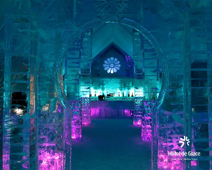 The Ice Hotel, Quebec City - let's go here! -I want to Visit-Serena Jade