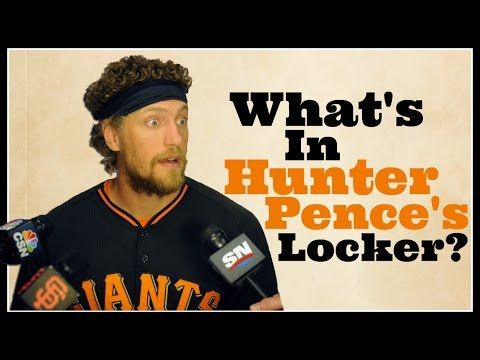 What's in an MLB player's locker? Hunter Pence's girlfriend investigates | Big League Stew - Yahoo Sports