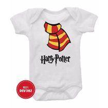 Body Cachecol Harry Potter Bebê Bori Bodies