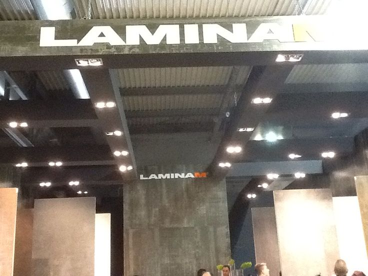 Stand espositivo di Laminam alla FIERA DEL MOBILE -MILANO 15aprile 2015