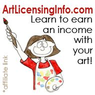 Learn how to earn an income licensing your art- great article on pricing.   *If you are interested in licensing my work, please send me a message. I've repinned this. I'm Designs By Misty Blue.