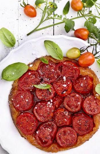 Tomato Tarte Tatin recipe on www.nomu.co.za