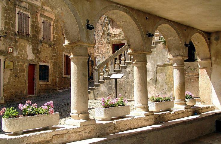 Groznjan, Oude Stad