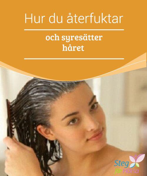 Hur du återfuktar och syresätter håret  Ditt hår är väldigt viktigt, huvudsakligen för att det är ett #estetiskt element som #definierar dig. Precis som andra delar av #kroppen så måst du dock ta hand om det så att det ser #friskt och vackert ut.