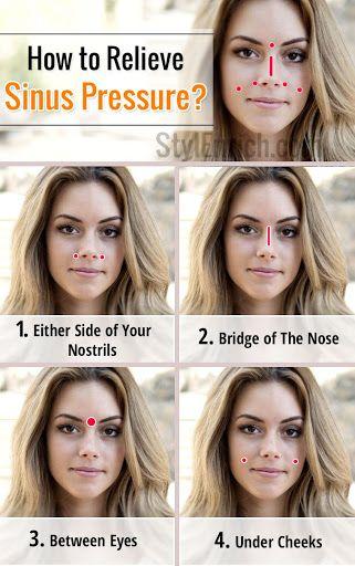 Sinus Pressure Points : How To Relieve Sinus Pressure?