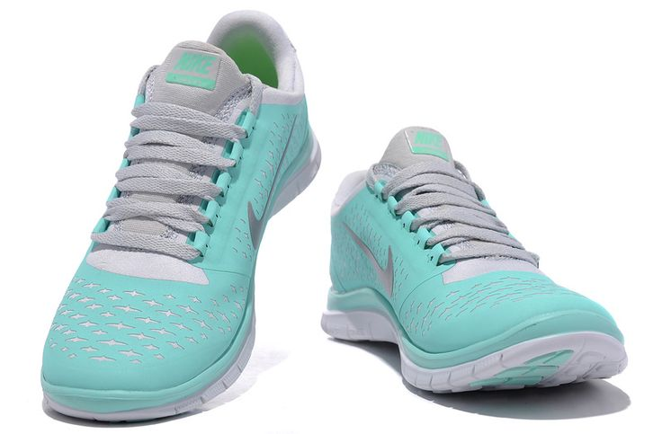 Womens Nike Free 3.0 V4 Tropical Twist Reflective Silver Pro Platinum White Lace Tiffany Blue Nike