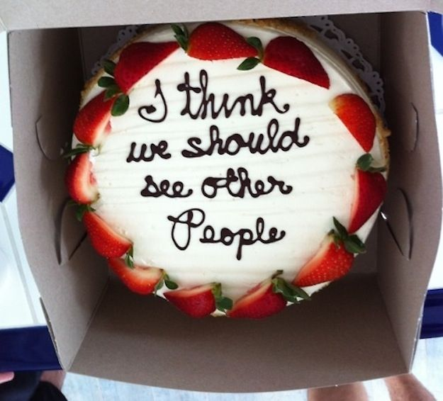 Want a good laugh? Click this to see more awful and hilarious cakes...27 Painfully Honest Cake Messages