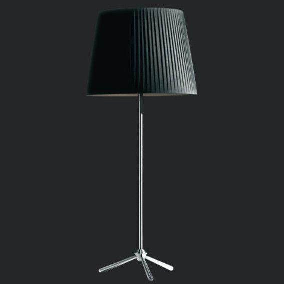 A selection of Indoor floor luminaires