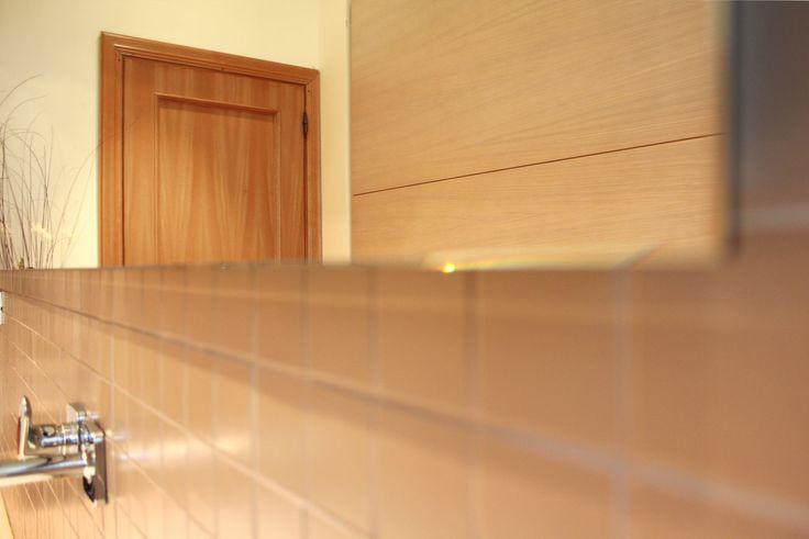 Dettaglio. #specchio filo lucido. Progetto di un nuovo bagno di # ...