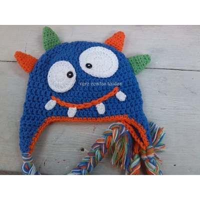 Gorros Tejidos Al Crochet Niños - Bebes - - $ 170,00