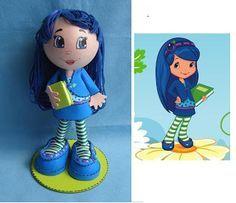 Frutillitas y sus amigas  Rosita fresita o frutillita  Dulce De Limón (Lemon Meringue)   Morita (Blueberry Mu...
