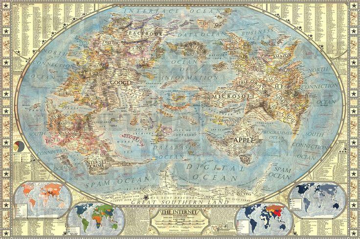 Mejores 47 imgenes de dynamic images en pinterest mapas mapa map of internet gumiabroncs Images