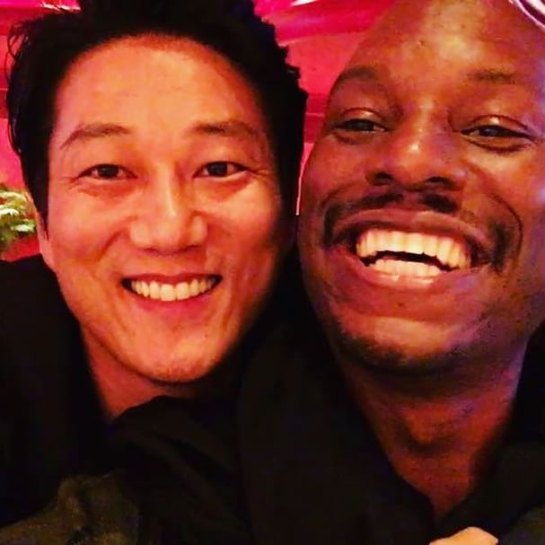 Isn't he just adorable ahahahahahahahahahahhh @sungkangsta I just shouted my brother out tonight on stage at the #ChineeseFilmFestival then randomly ran into him in Vegas so crazy!!! #VoltronChairman #FastFamily