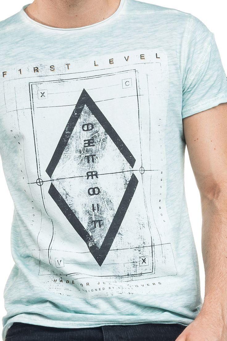 Mens Ombre T Shirt