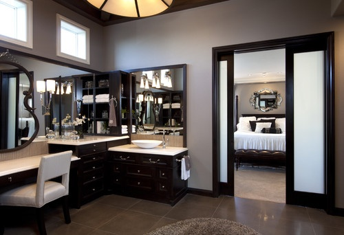 Master Bathroom remodel: Interior Design w/ Transitional Modern style - traditional - bathroom - san diego - by Robeson Design