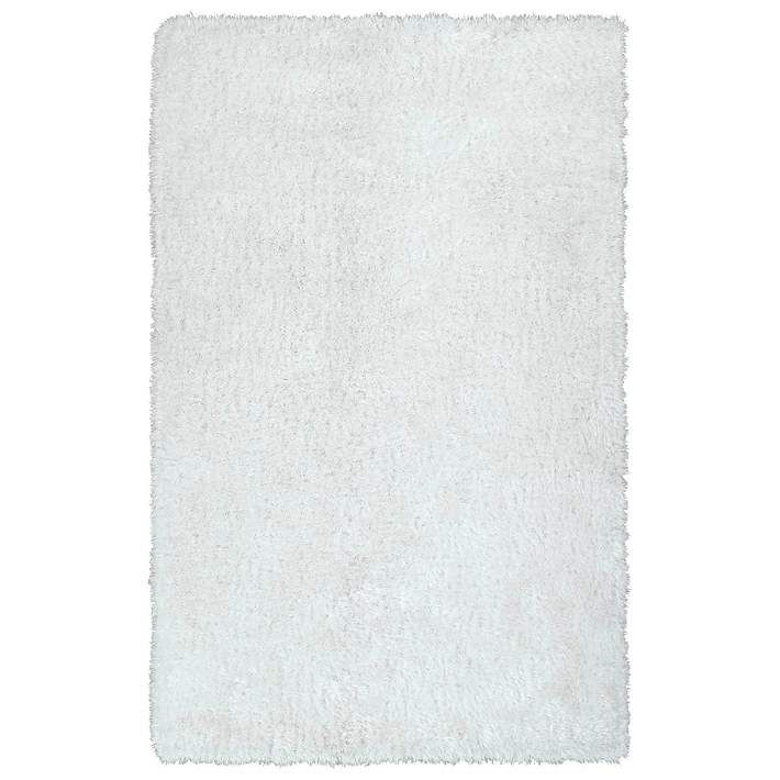 Kaleen Posh PSH01-76 White Shag Area Rug - #6V791 | Lamps Plus