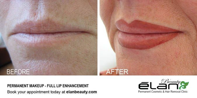 Before and After - Full lip enhancement #permanentmakeup #lips #eyebrowtattoo #cosmetictattoo #tattoo