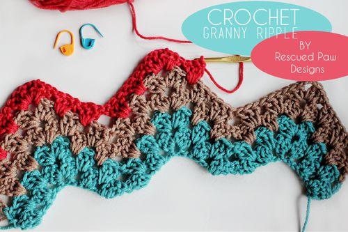 tumblr_inline_njkcbohm1T1sa8g1d   Granny Ripple stich crochet