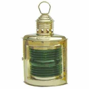 Steuerbordlampe Messing, Petroleumbrenner