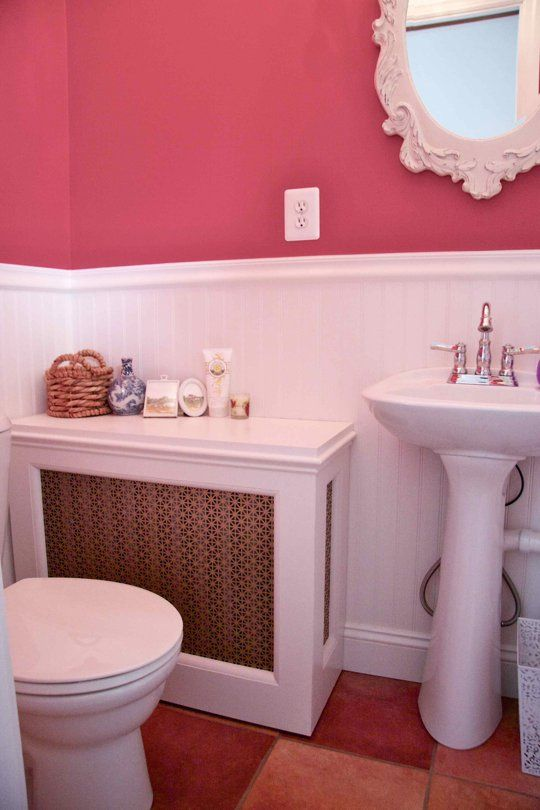 16 best images about cool radiator covers on pinterest for Ideas for extra small bathrooms