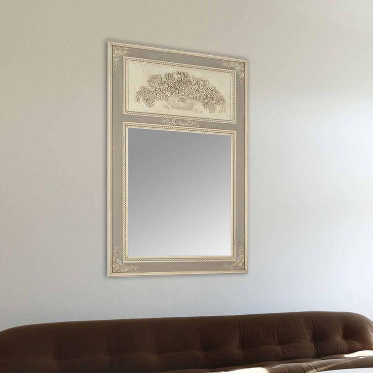 17 meilleures id es propos de miroir trumeau sur for Miroir trumeau blanc
