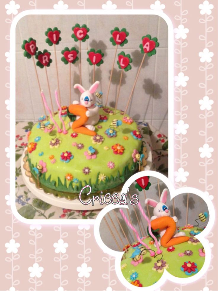 Cricca's: Torta in pasta di zucchero compleanno bimbi