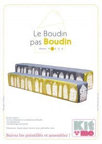 Linna Morata - Fabric Kit - Le Boudin pas boudin