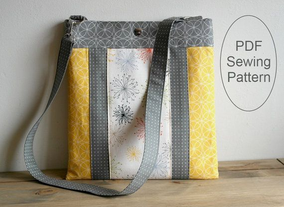 INSTANT DOWNLOAD Bag Sewing Pattern PN701 Layered Hipster Bag by SusieDDesigns