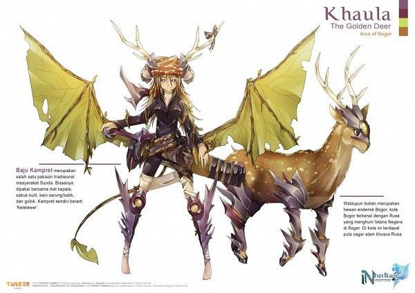 Khaula / The Golden Deer / Arca of Bogor (Indonesia)