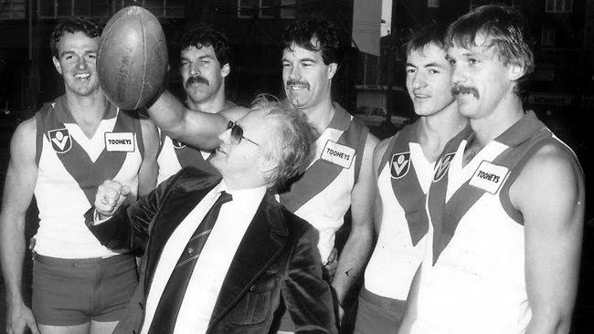 Paddington...home of the Sydney Swans. Geoffrey Edelsten was a showman even back then.