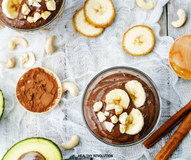 Mousse de chocolate – Healthy Revolution